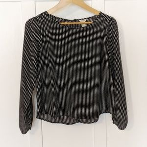 EUC Elegant Black Blouse